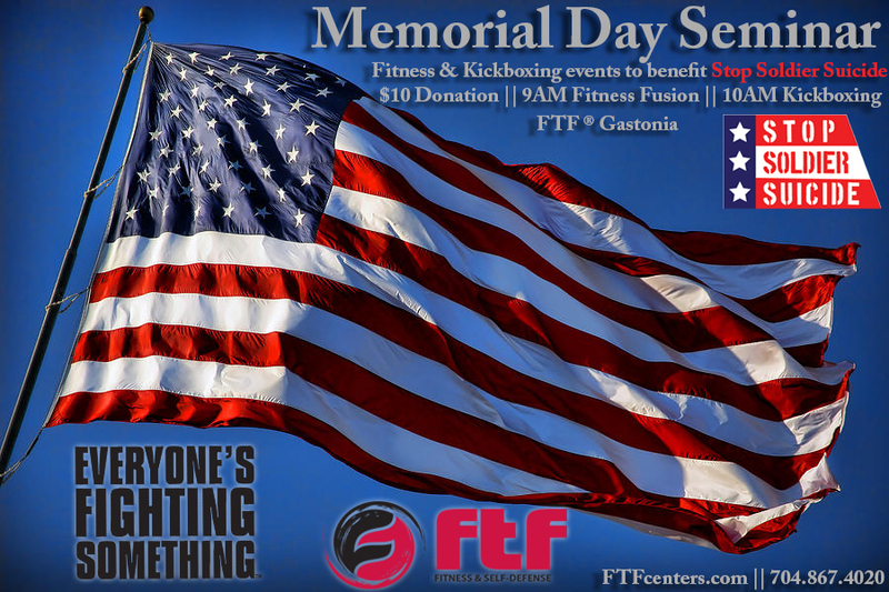 Memorial Day Fitness and Kickboxing