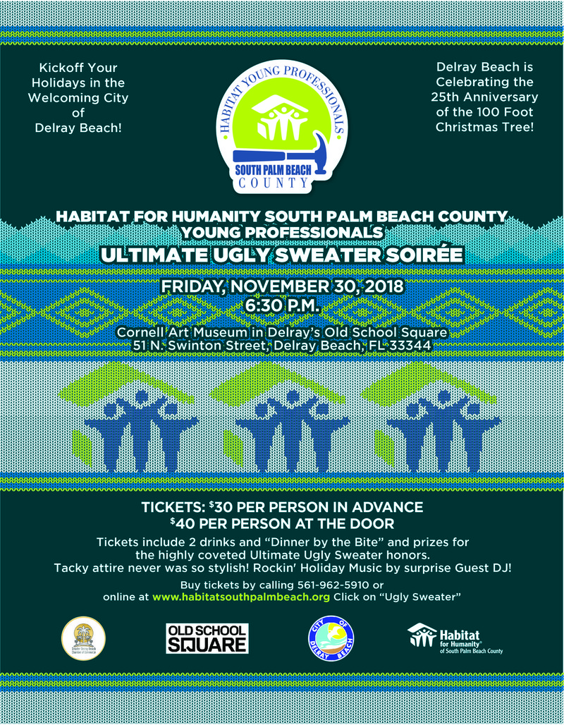 "Habitat Young Professionals ""Ultimate Ugly Sweater Soiree"""