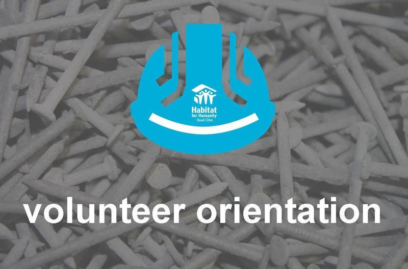 Volunteer Orientation - Habitat for Humanity