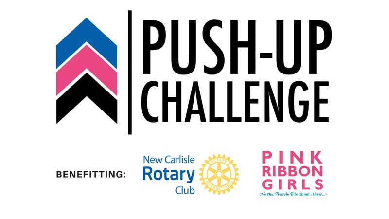 Push-Up Challenge in Partnership with the New Carlisle Rotary Club