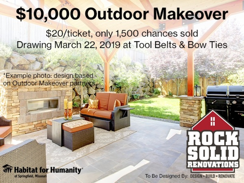 $10,000 Outdoor Makeover - 2019 Fundraising Campaign for Habitat for