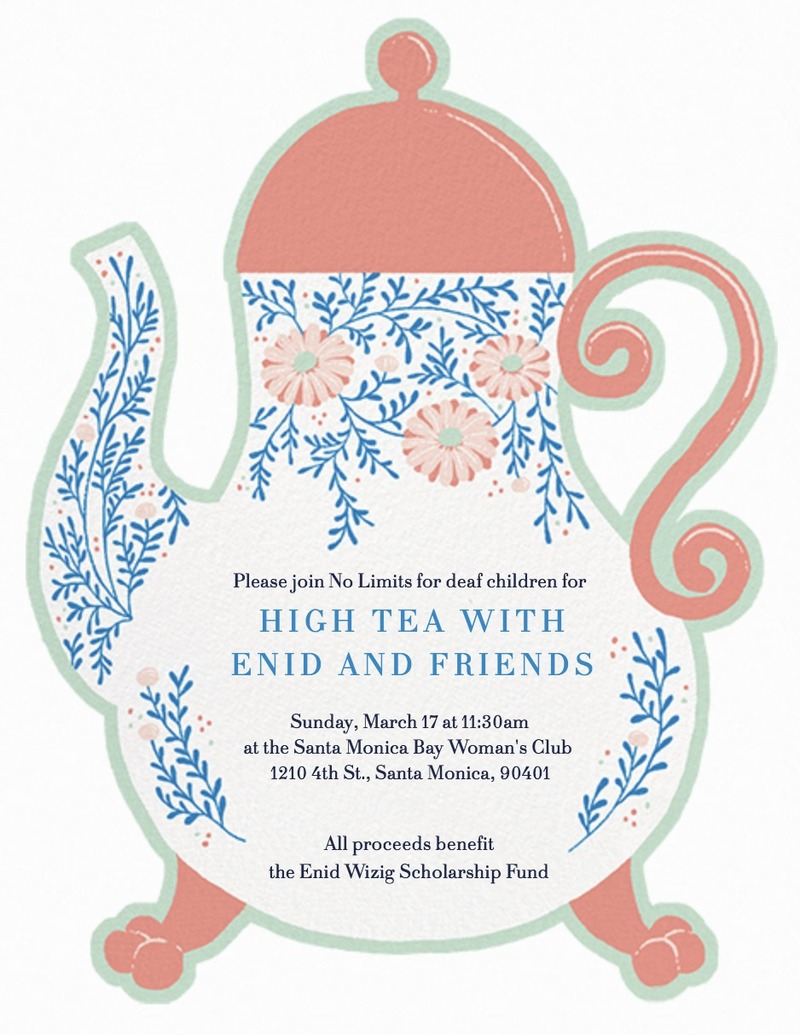 High Tea with Enid and Friends