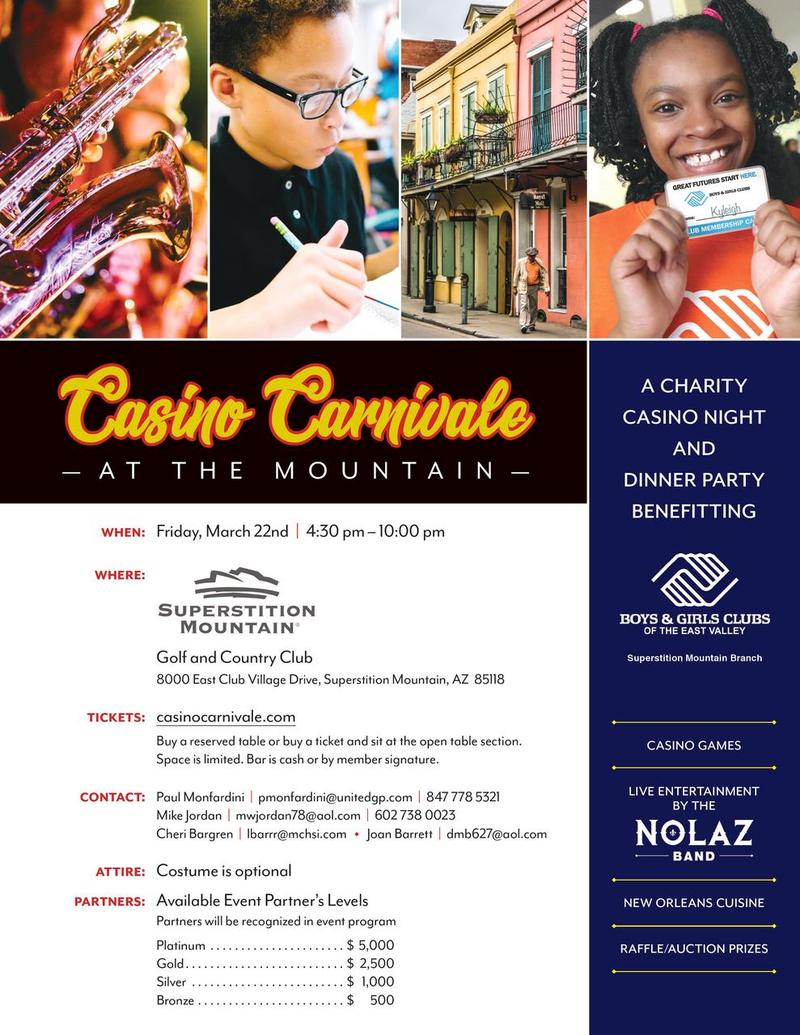 Casino Carnivale at the Mountain