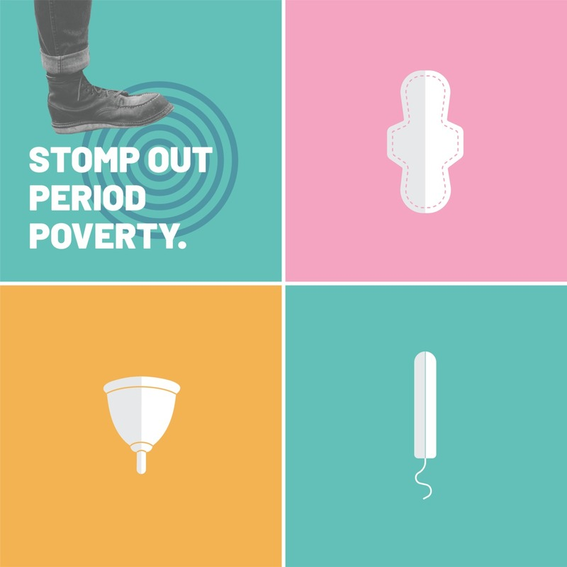 HSA Stomp Out Period Poverty Campaign