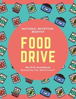 1st Annual NNM Food Drive