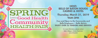 Spring Into Good Health Community Health Fair