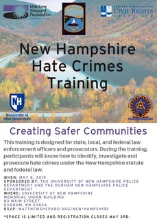 New Hampshire Hate Crimes Training
