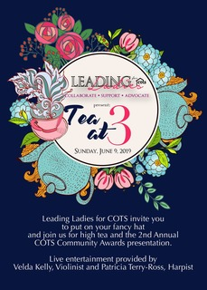 Leading Ladies Present Tea at 3!
