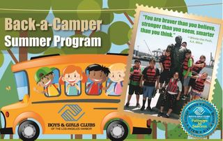 Back-a-Camper Summer Program Support Board