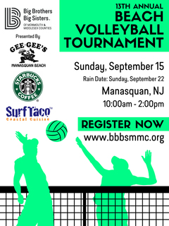 13th Annual Beach Volleyball Tournament