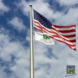 Flag Raising & Butterfly Release - Children's Hospital New Orleans