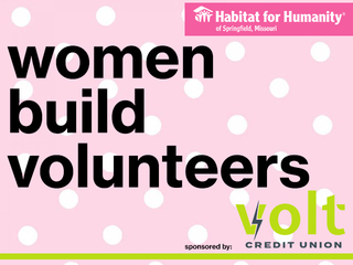 Women Build Volunteering