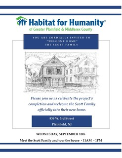 Habitat for Humanity - Gtr Plainfield & Middlesex County