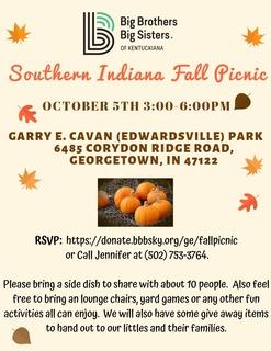 Southern Indiana Fall Picnic