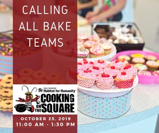Cooking on the Square Bake Team Registration