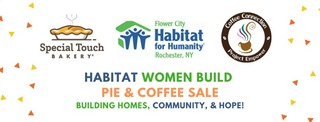Women Build Pie & Coffee Sale 2019