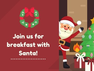 Breakfast with Santa at Haywood Mall