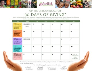 30 Days of Giving