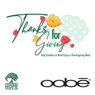 OOBE Holiday Box Fundraiser for Harvest Hope Food Bank