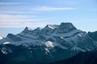 Traverse of Mount Lougheed