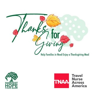 TNAA Holiday Box Fundraiser for Harvest Hope Food Bank