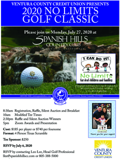 No Limits Golf Classic 2020