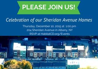 Celebration of Sheridan Avenue Homes