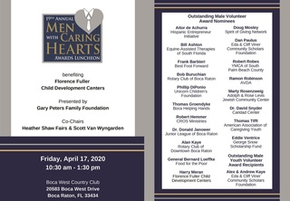 2020 Men with Caring Hearts Awards Luncheon
