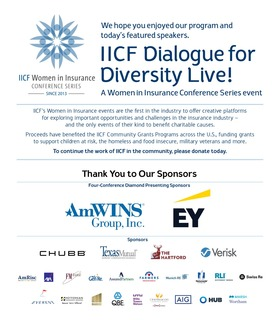 IICF Thanks You for being part of Dialogue for Diversity Live!