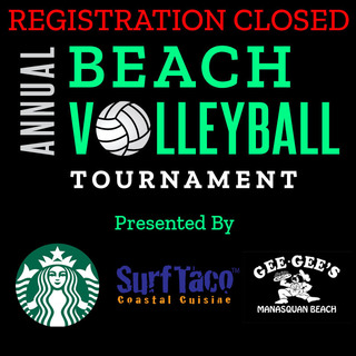 REGISTRATION CLOSED- 14th Annual Beach Volleyball Tournament