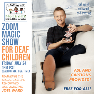 No Limits Magic Show for deaf children!