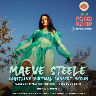 Maeve Steele Virtual Concert Benefiting SLO Food Bank