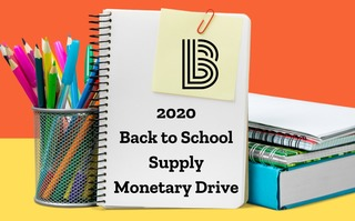 2020 Back to School Supply Monetary Drive