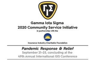 Gamma Iota Sigma 2020 Community Service Initiative