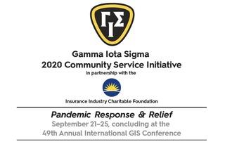 Gamma Iota Sigma 2020 Community Service Initiative
