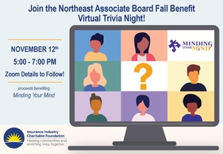 Northeast Associate Board Fall Benefit - Virtual Trivia Night