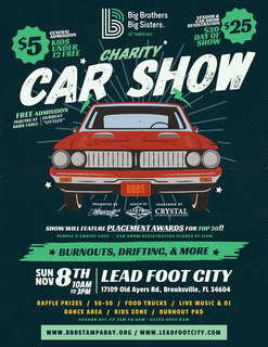Big Brothers Big Sisters Charity Car Show