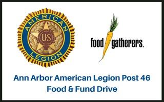 Ann Arbor American Legion Post 46 Food Drive