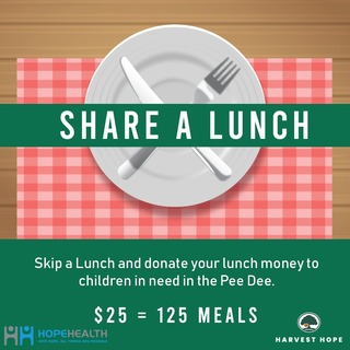 HopeHealth's Share a Lunch Fundraiser for Harvest Hope