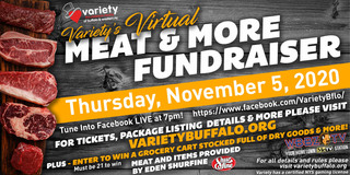 Variety's Virtual Meat & More Fundraiser!