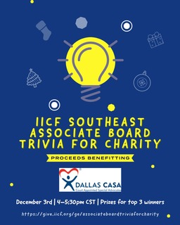 IICF Southeast Associate Board Trivia for Charity