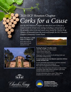 IICF Houston Chapter Corks for a Cause Event