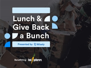 Lunch & Give Back a Bunch