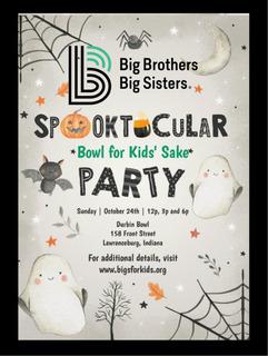 Big Brothers Big Sisters Spooktacular Bowl for Kids' Sake