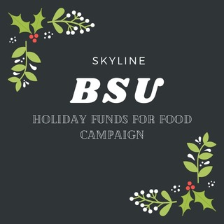 Skyline BSU Holiday Funds for Food Campaign