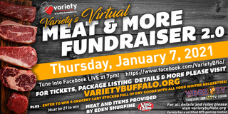 Variety's Virtual Meat & More Fundraiser 2.0!