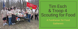 Tim Esch & Troop 4 Scouting for Food 2021