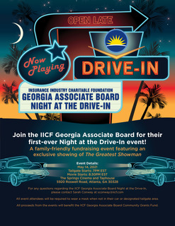 IICF Georgia Associate Board Night at the Drive-In Event