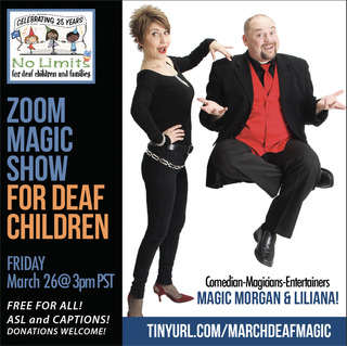 No Limits Deaf Magic Show-March 26!