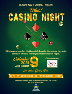 IICF Virtual Casino Night
